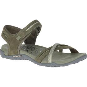 Merrell Terran Cross II Sandals Women, olive